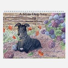 A Slim Dog Year Wall Calendar