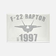 Varsity F-22 1997 Rectangle Magnet