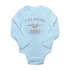 Varsity F-22 1997 Long Sleeve Infant Bodysuit