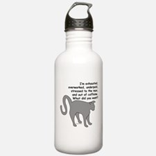 Exhausted & Overworked! Water Bottle