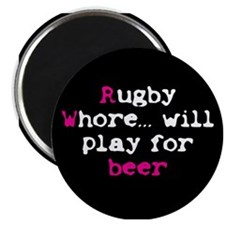 Rugby Whore.. Magnet