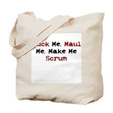 Rugby Whore Tote Bag