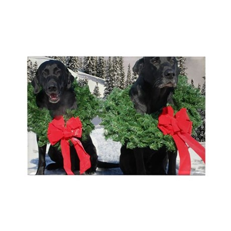 Xmas Labs Rectangle Magnet (10 pack)