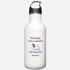 Accountant Sports Water Bottle