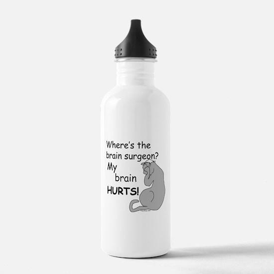 My Brain Hurts! Water Bottle