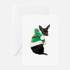 Santa Chihuahua Greeting Cards (Pk of 10)