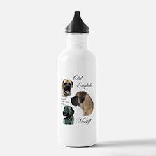 Old English Mastiff Water Bottle