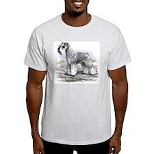 Miniature Schnauser Ash Grey T-Shirt