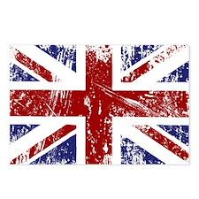 British Flag Punk Grunge Postcards (Package of 8)