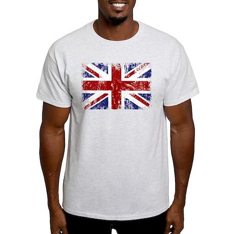 British Flag Punk Grunge Light T-Shirt
