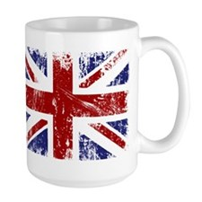 British Flag Punk Grunge Mug