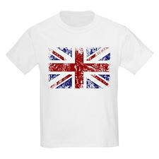 British Flag Punk Grunge T-Shirt