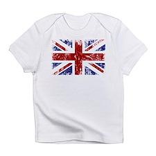 British Flag Punk Grunge Infant T-Shirt