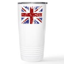 British Flag Punk Grunge Travel Mug
