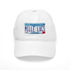 Mille Lacs License Plate Baseball Cap