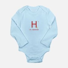 H2, It's Elemental Long Sleeve Infant Bodysuit