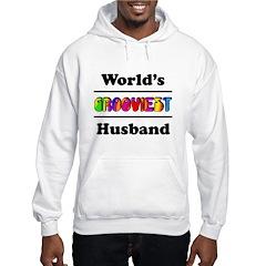 World's Grooviest Husband Hoodie