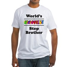 World's Grooviest Step Brother Shirt