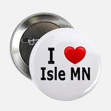 "I Love Isle 2.25"" Button"