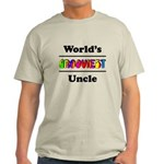 World's Grooviest Uncle Light T-Shirt