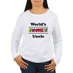 World's Grooviest Uncle Women's Long Sleeve T-Shir