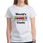 World's Grooviest Uncle Women's T-Shirt