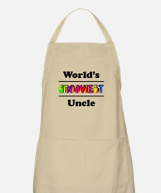 World's Grooviest Uncle Apron