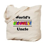 World's Grooviest Uncle Tote Bag