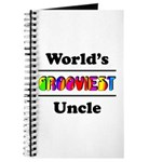 World's Grooviest Uncle Journal