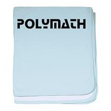 Polymath baby blanket