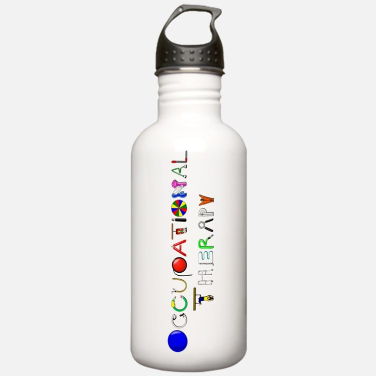OT at work Sports Water Bottle