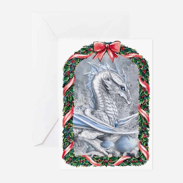 Winter Dragon Greeting Cards (Pk of 10)