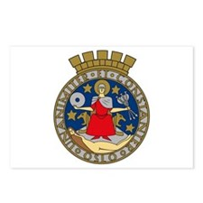 Oslo Coat of Arms Postcards (Package of 8)