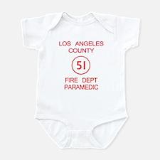 Emergency Squad 51 Infant Bodysuit