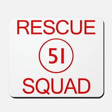 Squad 51 Emergency Mousepad