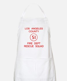 Squad 51 Emergency! BBQ Apron