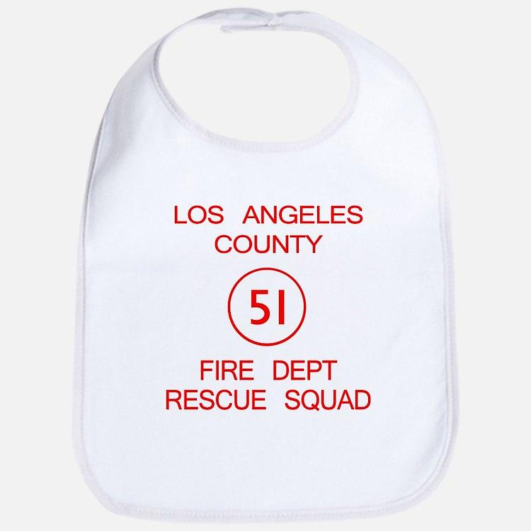 Squad 51 Emergency! Bib