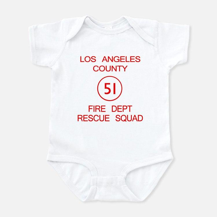 Squad 51 Emergency! Infant Bodysuit
