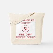 Squad 51 Emergency! Tote Bag