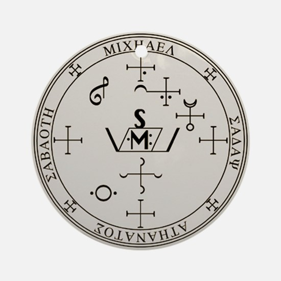 Seal of Michael Ornament (Round)