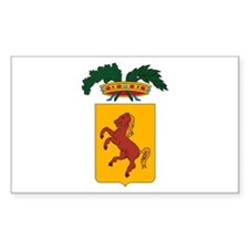 Napples Coat of Arms Rectangle Decal