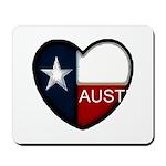 Austin Heart Mousepad