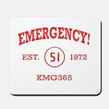 EMERGENCY! Squad 51 Vintage Mousepad