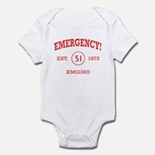 EMERGENCY! Squad 51 vintage Infant Bodysuit