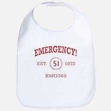 EMERGENCY! Squad 51 vintage Bib