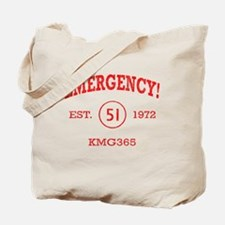 EMERGENCY! Squad 51 vintage Tote Bag