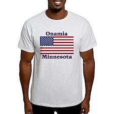 Onamia US Flag T-Shirt