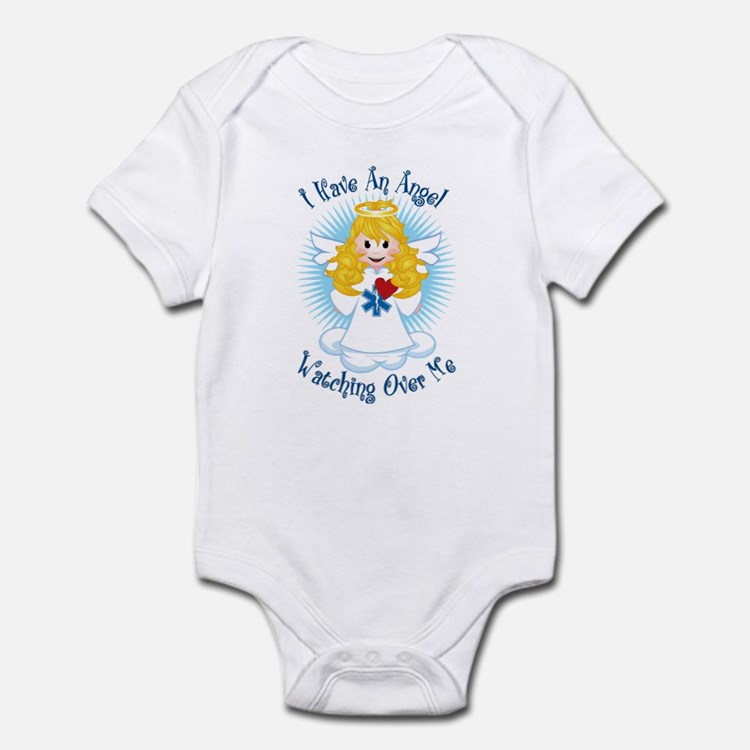 Angel Watching Me EMT Infant Bodysuit