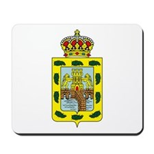 Mexico City Coat of Arms Mousepad