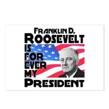 FDR 4ever Postcards (Package of 8)